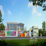 富春城幼儿园围墙大门传达室