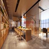 大厅二层茶区